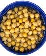 Kikærtevand, såkaldt aquafaba, har mange funktionelle egenskaber tilfælles med æggehvide. Foto: Colourbox.